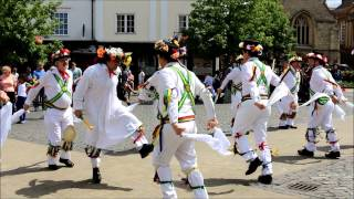 Abingdon Traditional Morris Dancing Princess Royal(Performed on the Mayor of Ock Street Day - June 21st 2014., 2014-06-21T16:18:11.000Z)