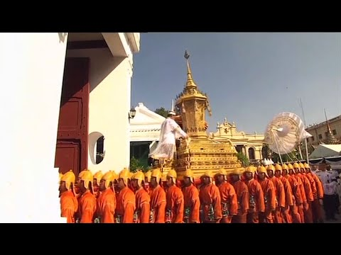 Raw: Elaborate Funeral Procession For Thai King