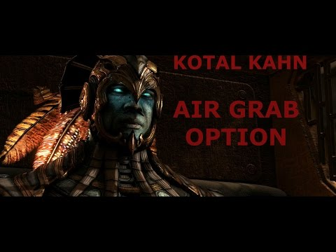 MKX: Kotal Kahn Air Grab Option On All Characters (New Tech)