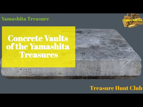Concrete Vaults of the Yamashita Treasures