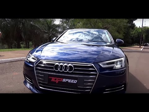 Avaliação Audi A4 2.0 TFSI 2016 | Canal Top Speed