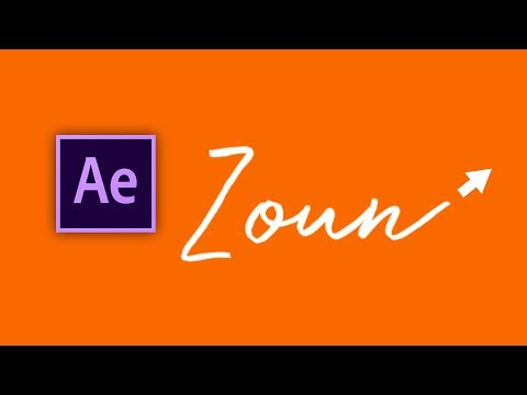 Write-On Text in After Effects (Easy)