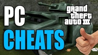 GTA 3 Cheats (22) [PC]