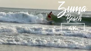 Zuma Beach in Malibu California 4K