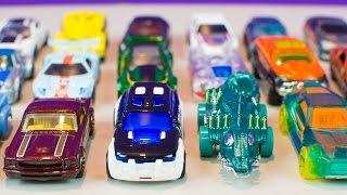 Hot Wheels HW Workshop 20 Toy Cars for Kids Part 4 Kinder Playtime