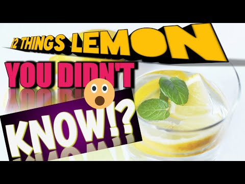 Lemon Juice Benefits - Healthy Lifestyle - Lose Weight - Lemon Juice Recipe - Weight Loss - Health