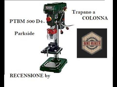 Trapano A Colonna Parkside Ptbm 500d4