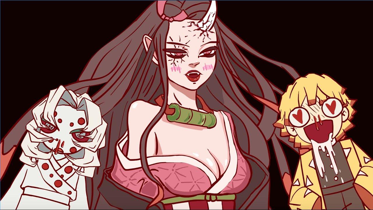 Demon Slayer   Nezuko Ara Ara   React when Nezuko Ara ara   Kimetsu No Yaiba animation.