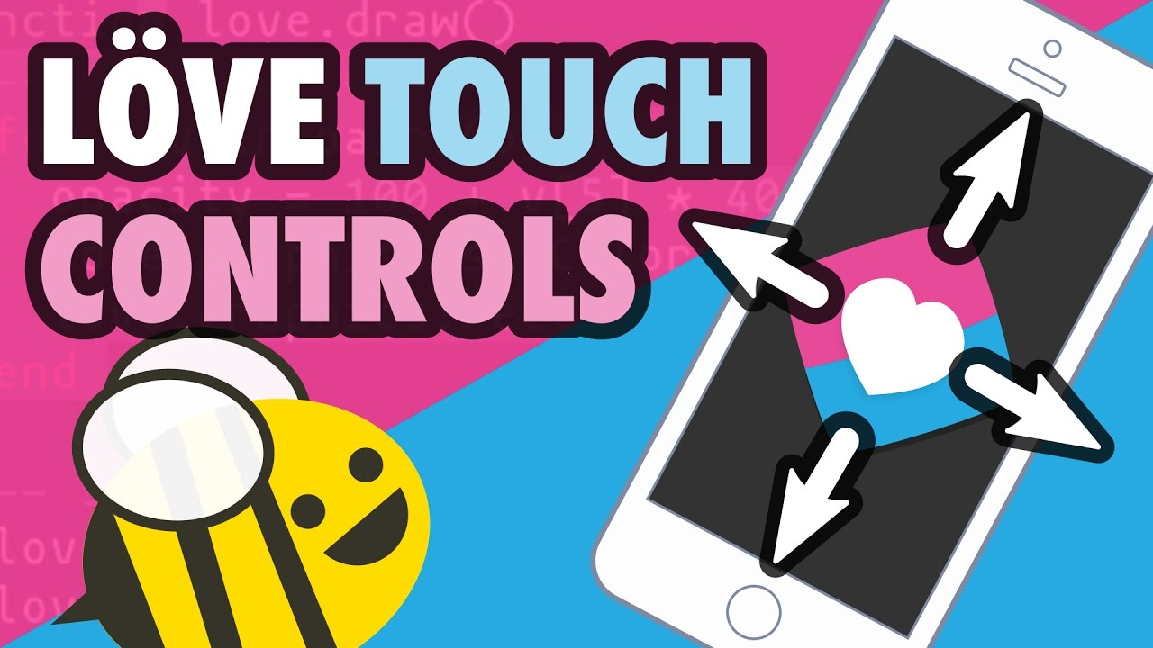 LOVE2D Arrow Keys to Touchscreen Controls for Mobile Tutorial