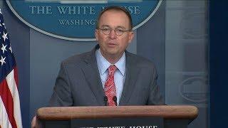 White House admits to Ukraine quid pro quo