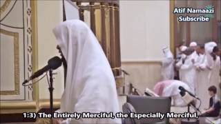 Download lagu Surah Al-Anbya and Al-Insan: Sheikh Mansour As-Salami (English Subs) Isha Salah