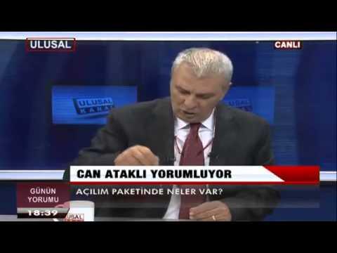 CAN ATAKLI İle Günün Yorumu   Ulusal Kanal   30 Eylül 2013