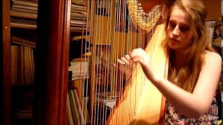 Bella Notte (Lady and The Tramp) / Belle Nuit (La Belle et le Clochard) - Harp Cover
