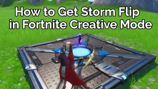 How to Get the Storm Flip in Fortnite Creative Mode Glitch