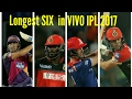 Tubidy Longest SIX in VIVO IPL 2017| Top 5 Batsman in VIVO IPL 2017|