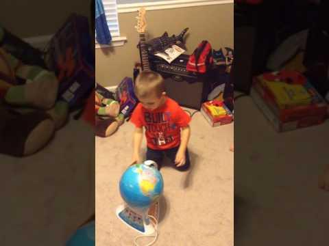 Andrew's Smart Globe