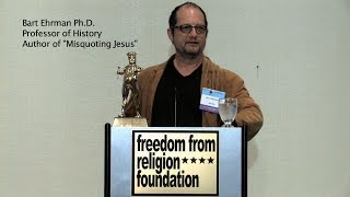 Bart Ehrman Freedom From Religion Foundation Lecture Thumbnail