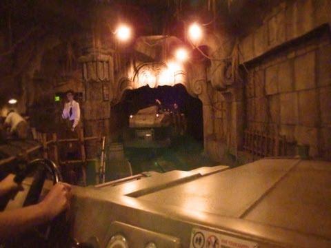 Indiana Jones Adventure POV Temple of the Forbidden Eye Disneyland California