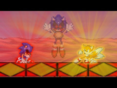 Tails survived and the others died Sonic.exe The Spirits Of hell