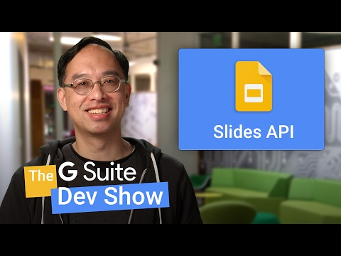 Adding text & shapes with the Google Slides API (The G Suite Dev Show)