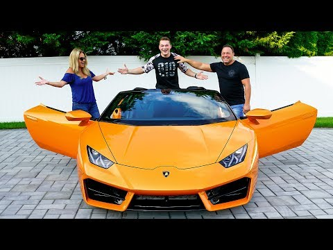 SURPRISING MY PARENTS WITH LAMBORGHINI *BRAND NEW*