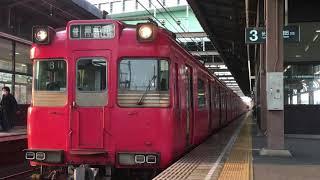 名鉄100系200番台212f(普通豊田市行き) 上小田井駅発車‼️