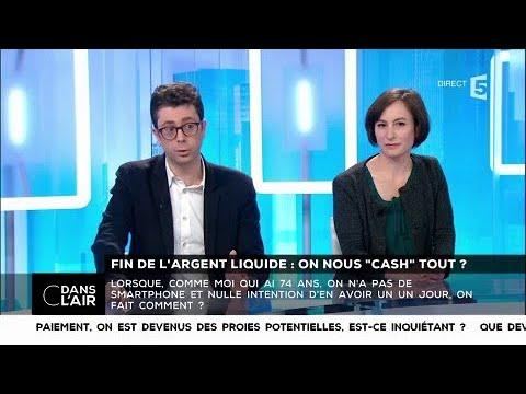 """Fin de l'argent liquide : on nous """"cash"""" tout ? - Les questions SMS #cdanslair 27.01.2018"""