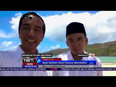 Presiden Jokowi Ajak Gubernur NTB Ngevlog Bareng - NET24