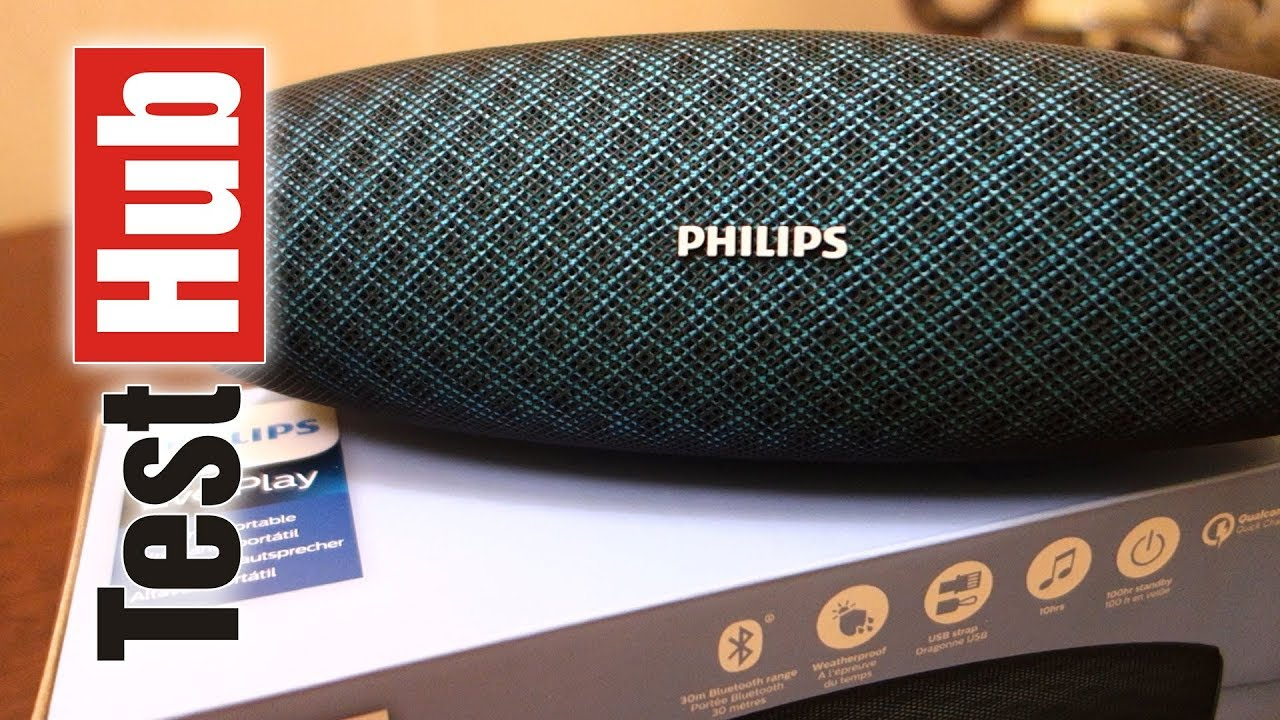 Philips EverPlay BT7900 Bluetooth speaker review