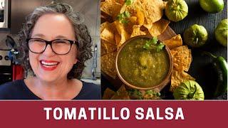 Tomatillo Salsa or Salsa Verde