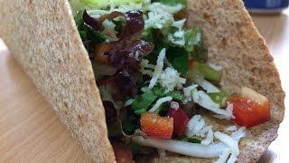Рецепт Такос. Легкая и быстрая закуска Мексиканского Такос.
