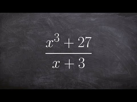 Dividing Two Polynomials Using Synthetic Division