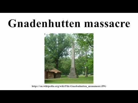 Gnadenhutten massacre
