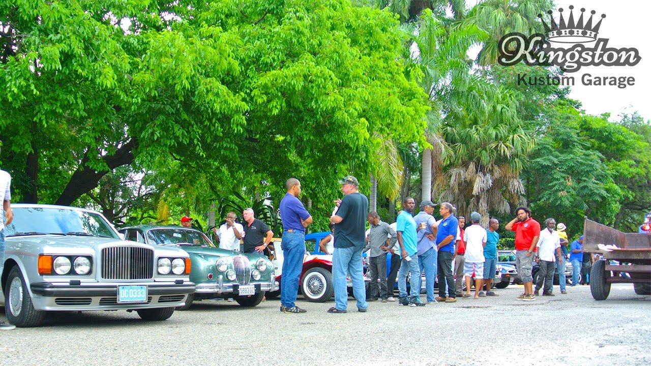 Vintage Cars For Sale In Jamaica: Jamaica Classic Car April 2017 Meet