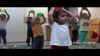 детская гимнастика для детей от 3 до 7 лет!