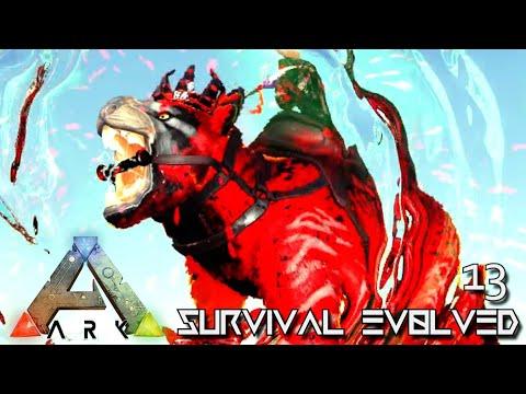 ARK: SURVIVAL EVOLVED - LORD OF BACON THYLACOLEO KING !!! | PARADOS GAIA AMISSA E13
