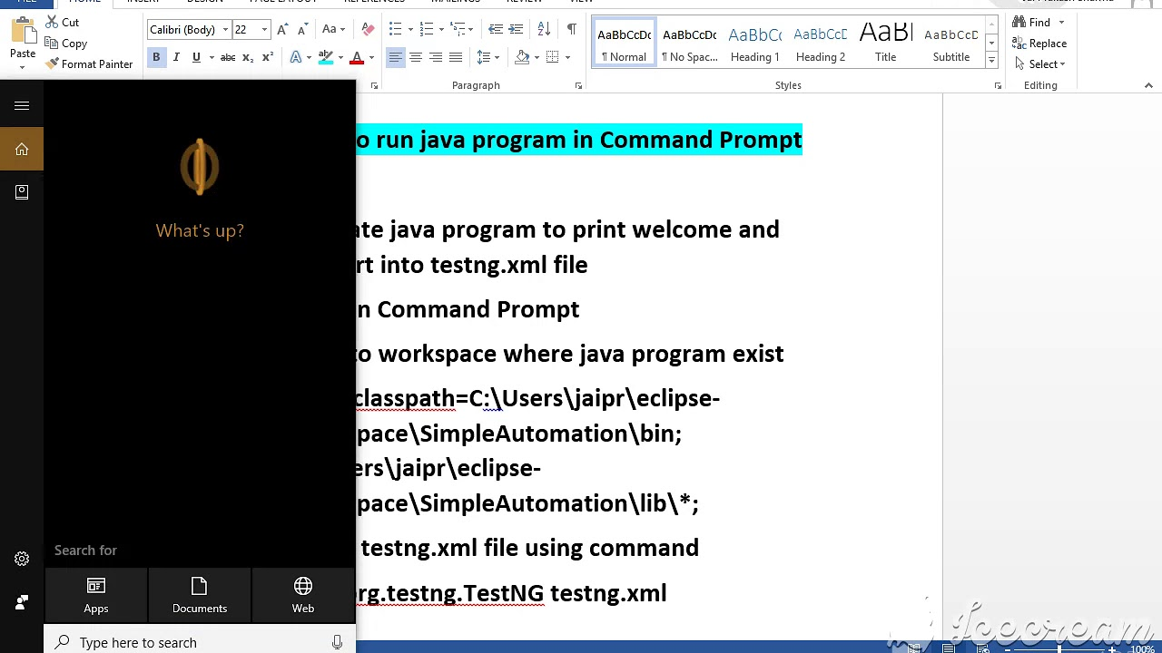 How To Run Simple Java Program In Command Prompt How to Run