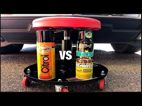 Cheap vs Expensive Citrus Degreasers Citrol vs Lifter 1 Bug and Tar Removal