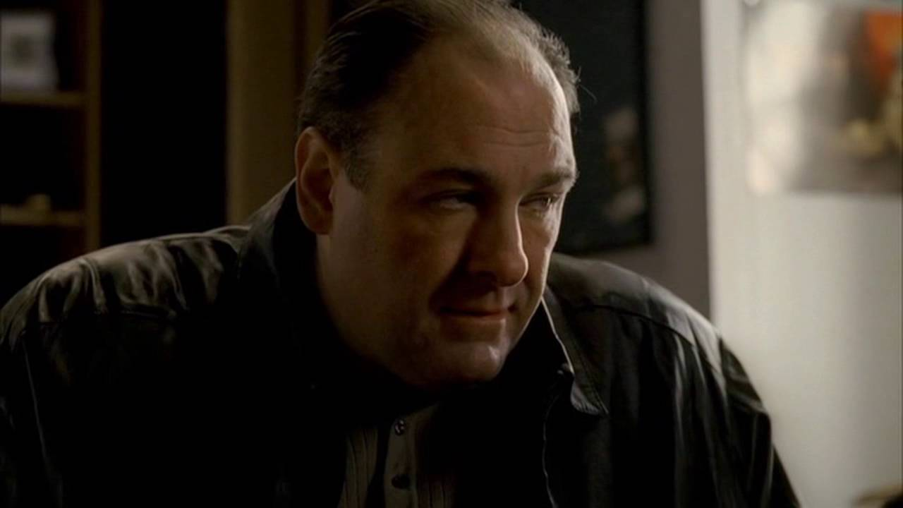 The Sopranos - Tony Drags AJ Out Of Bed