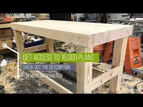 Workbench Plans - How To Build Workbench