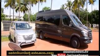 Mammootty buys Mercedes Benz marco polo caravan