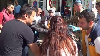 Askeri Minibüse Bombalı Saldırı 4 Asker Yaralı
