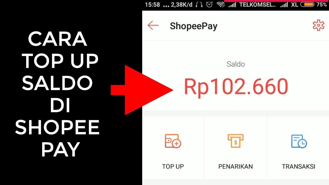 Cara Mengisi Saldo Shopeepay Lewat Atm Bank Transfer Jagoan Kode