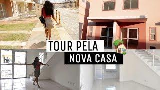TOUR PELA CASA VAZIA - NOSSO CANTINHO💟( RESIDENCIAL BOSQUE DOS BURITIS) POLLY COSTA