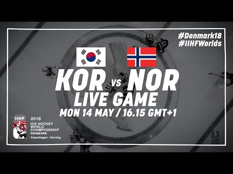 Korea - Norway | Live | 2018 IIHF Ice Hockey World Championship