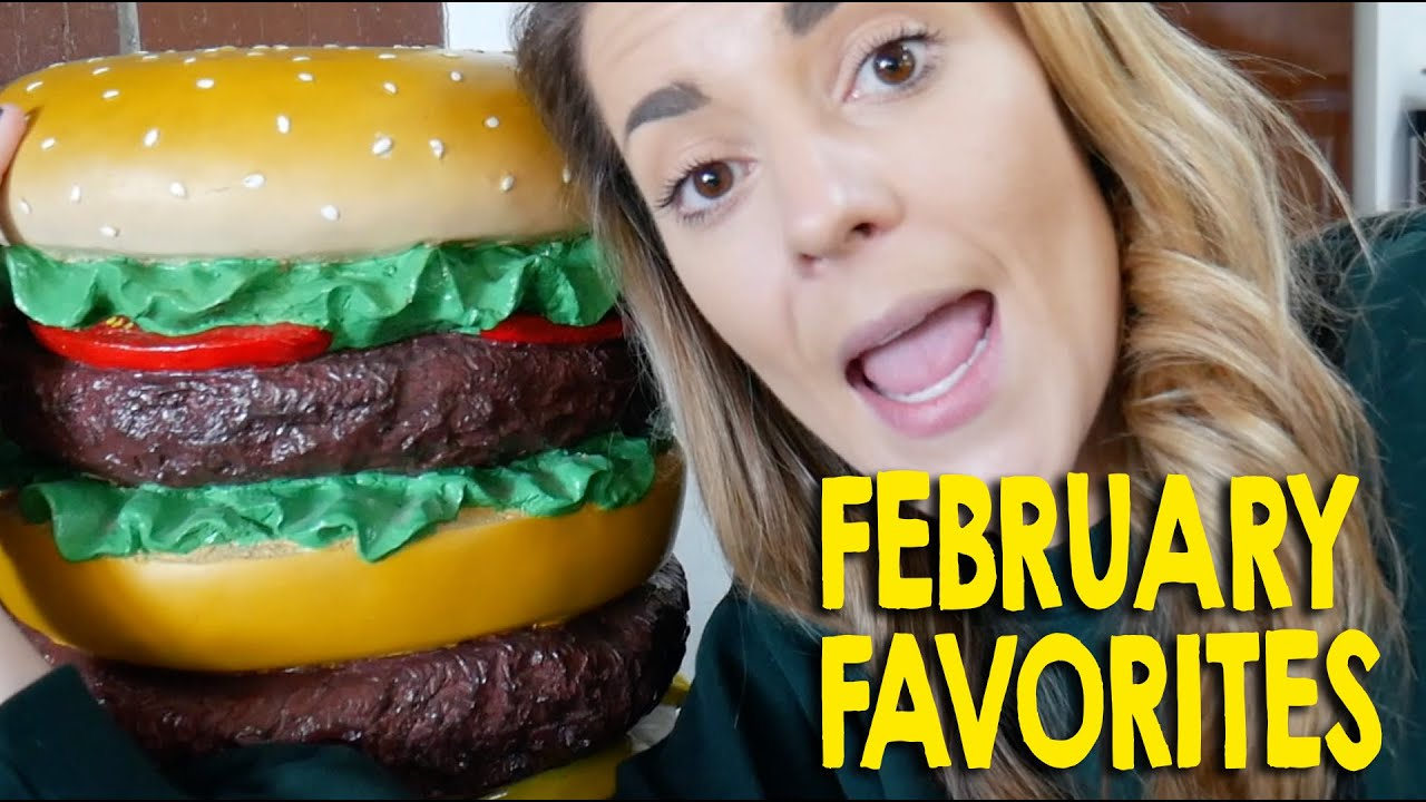 February Favorites (but a little different) // Grace Helbig