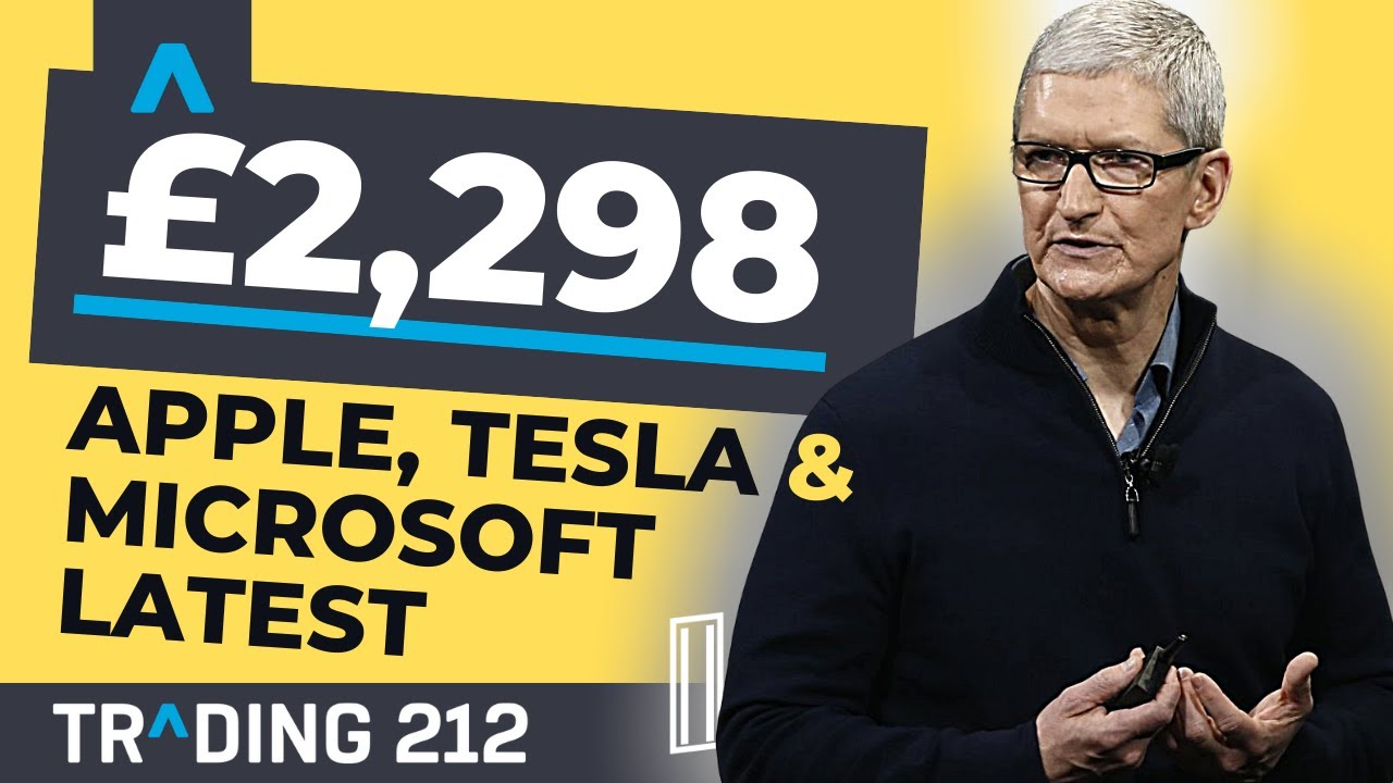 Trading 212 || #8 || Apple, Tesla & Microsoft News! | #Trading212uesday