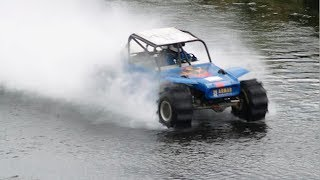 1600 hp twin turbo hydroplaning world record 1001 feet next hero