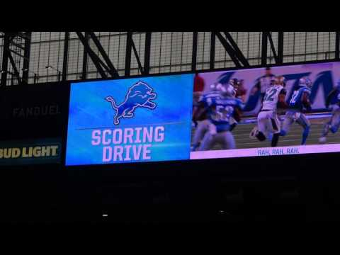 Detroit Lions - Fight Song - Gridiron Heroes 11/20/2016