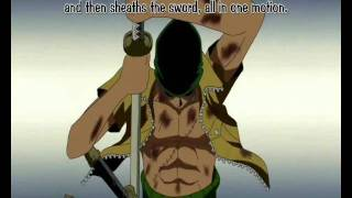 Repeat youtube video Roronoa Zoro AMV